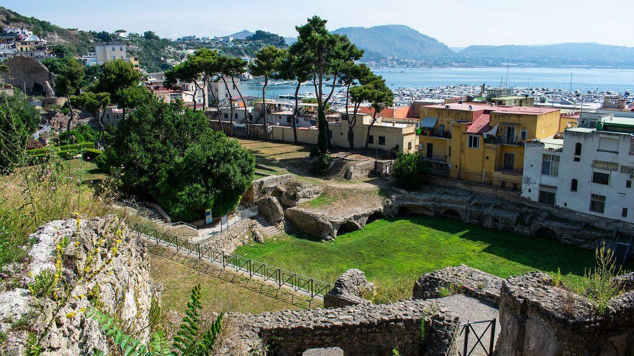 Il Parco Archeologico di Baia (Crediti: Amanda Ruggeri)