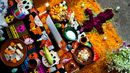 Pumpkins are placed on Day of the Dead altars, calabaza, Mexico (Credit: Credit: Jan Sochor/Alamy)