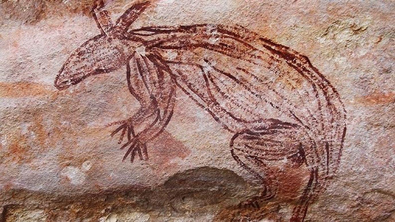 Ancient Aboriginal art 'unlike anything seen before' - BBC Reel