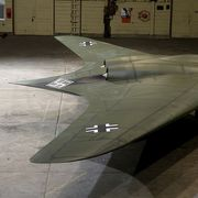 The Nazis' futuristic 'flying wing' thumbnail
