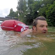 The man who swims to work thumbnail