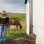 The Icelandic model who shears sheep thumbnail