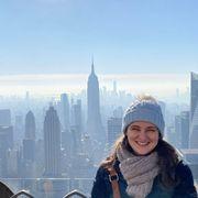 Hannah Reid, pictured in New York thumbnail