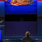 Donald Trump and Joe Biden debating on 29 Sept 2020 thumbnail