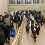 File image of commuters at Grand Central Station, New York thumbnail