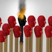 File image of a burning match thumbnail