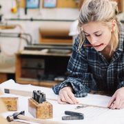 File image of a craftswoman thumbnail