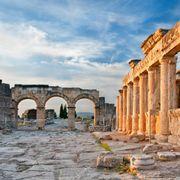 Latrine and Frontinus gate of Hierapolis, Turkey thumbnail