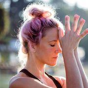 Woman meditating thumbnail
