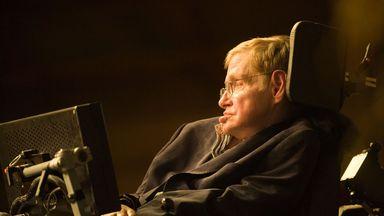 Stephen Hawking has had a long career (Credit: Danita Delimont/Alamy Stock Photo)