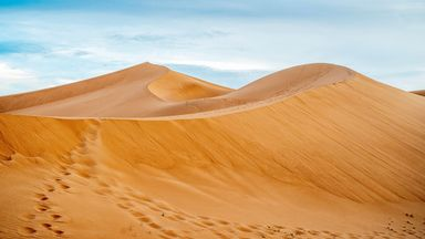 The Nubian Desert is located between the Nile and the Red Sea in the eastern Sahara (Credit: Credit: Eunika Sopotnicka/Getty Images)