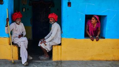 Khoba roti's origins can be traced to the villages around Jodhpur in Rajasthan (Credit: Credit: Tuul & Bruno Morandi/Getty Images)