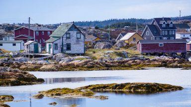 Tilting's older houses were constructed without foundations (Credit: Credit: Karen Gardiner)