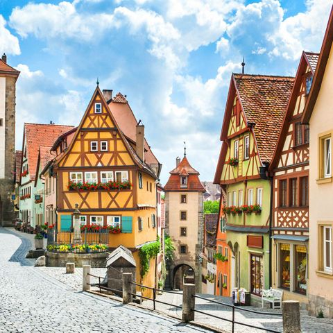 At first glance, German tidiness seems to influence most aspects of the country's culture (Credit: Credit: bluejayphoto/Getty Images)
