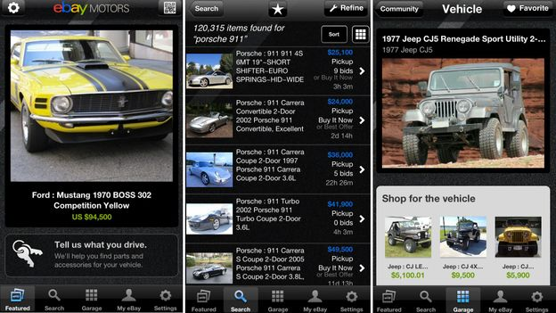 Bbc Autos Ebay Motors App Brings Car Coveting To Your Phone