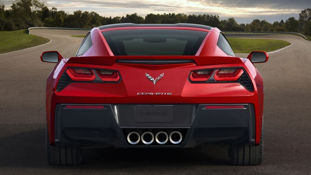 2014 Chevrolet Corvette Stingray (Credit: General Motors)