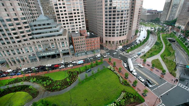 The Rose Kennedy Greenway (Credit: Wendy Maeda/The Boston Globe via Getty Images)
