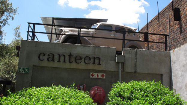 Canteen restaurant (Credit: James Bainbridge)