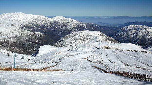 Santiago skiing (Credit: Bambu Productions/Getty)