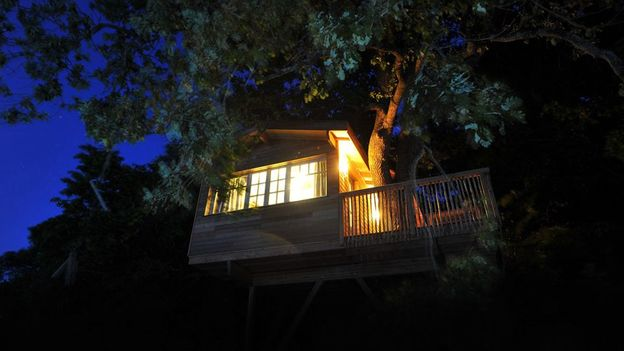 A treehouse in France (Credit: Canopy and Stars)