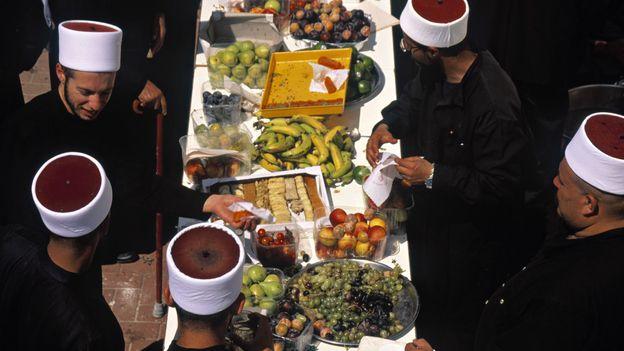 A Druze feast (Credit: Hanan Isachar/Getty)