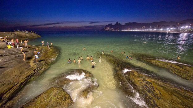 Arpoador beach (Credit: Antonio Scorza/AFP/Getty)