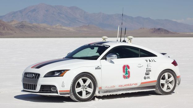Car becomes driver (Credit: Audi of America)