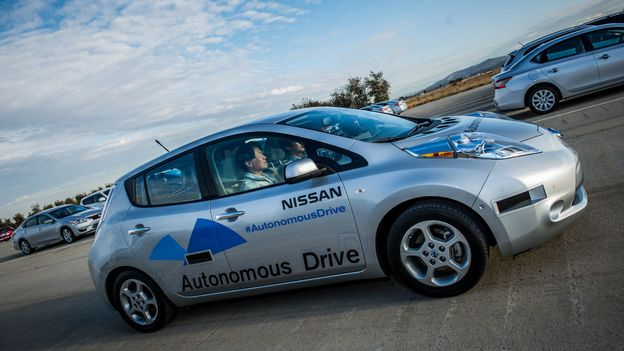 Car becomes driver (Credit: Nissan)