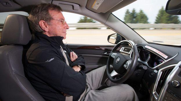 Car becomes driver (Credit: General Motors)