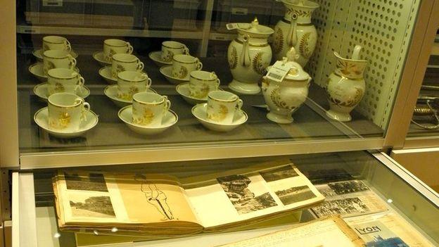 Museum exhibits (Credit: Kristin Conrad)