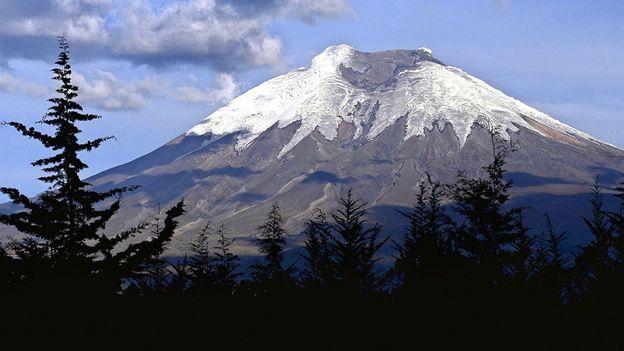 Cotopaxi volcano (Credit: Jorge Vinueza/AFP/Getty)
