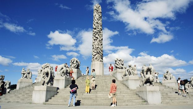 Vigeland Sculpture Park and Museum, Oslo (Credit: Fotoworld/Getty)