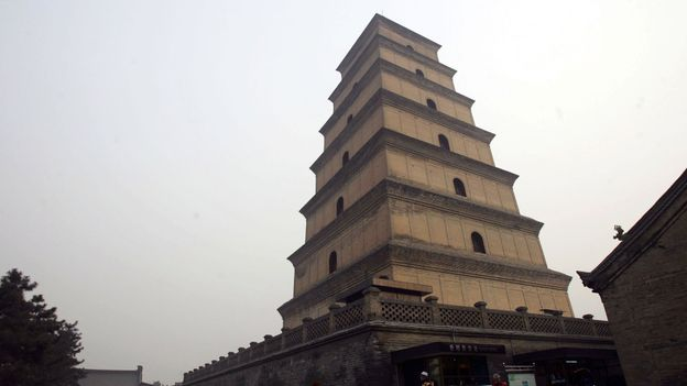 The Big Wild Goose Pagoda (Credit: Getty Images)