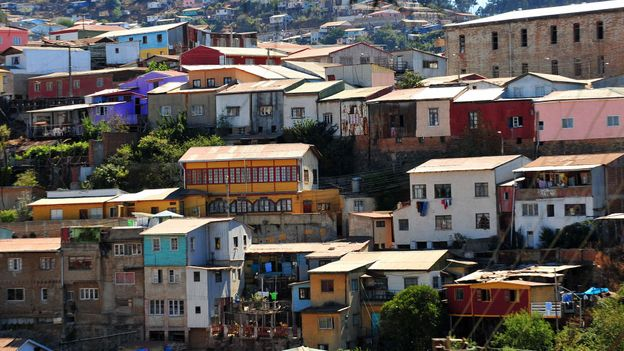 A view of Valparaiso (Credit: Martin Bernetti/AFP/Getty)