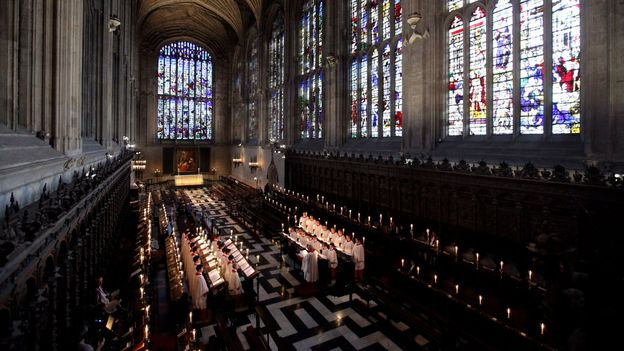The Choir of King's College Cambridge (Credit: Oli Scarff/Getty)