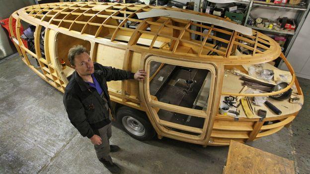 Dymaxion car reborn (Credit: Alexandr Satinsky/isifa/Getty Images)