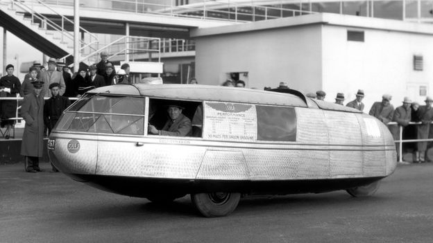 Dymaxion car reborn (Credit: Hedrich Blessing Collection/Chicago History Museum/Getty Images)