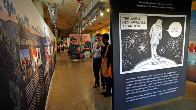 The Apartheid Museum (Credit: Kevork Djansezian/Getty)