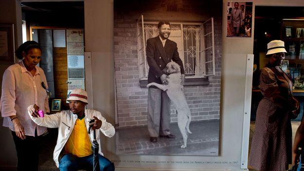 The Mandela House Museum (Credit: Pedro Ugarte/AFP/Getty)