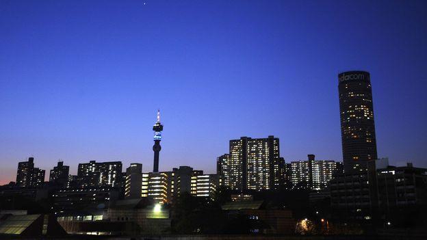 The Johannesburg skyline (Credit: Gianluigi Guercia/AFP/Getty)