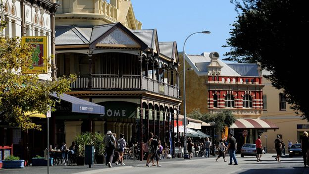 The historic port city of Fremantle (Credit: Greg Wood/AFP/Getty)