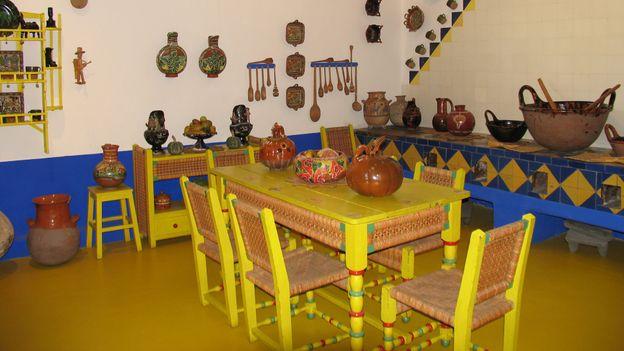 Kitchen, La Casa Azul (Credit: Kate Armstrong)