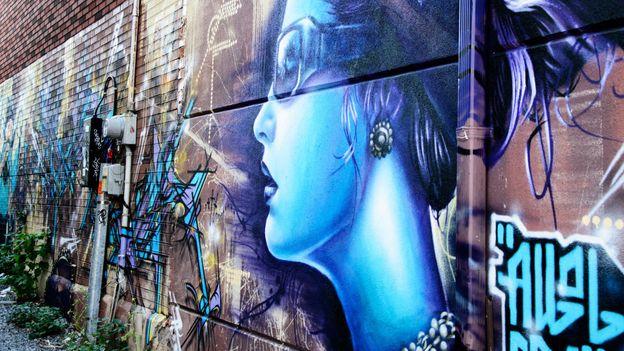 Alleyway art (Credit: Ilona Crabbe/Getty)
