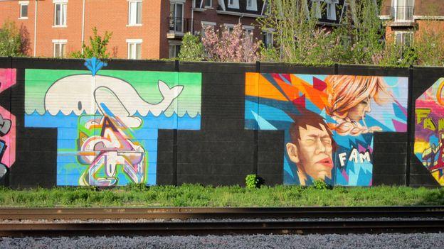 Murals in West Queen West (Credit: David G Allan)