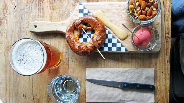 BarVolo's board of snacks (Credit: David G Allan)