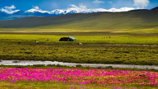 The landscape near Litang (Credit: Aldo Pavan/Getty)