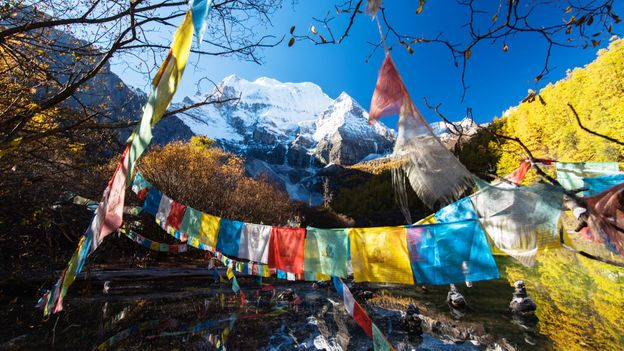 Prayer flags (Credit: Tonnaja Anan Charoenkal/Getty)
