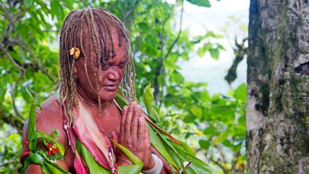 Tour guide Pa Teuruaa (Credit: Andrew Bain)