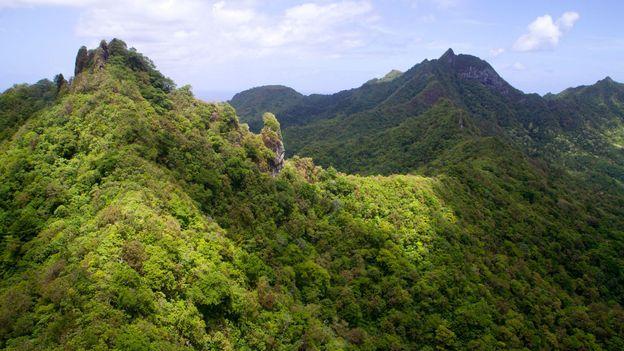 The mountainous interior (Credit: Andrew Bain)