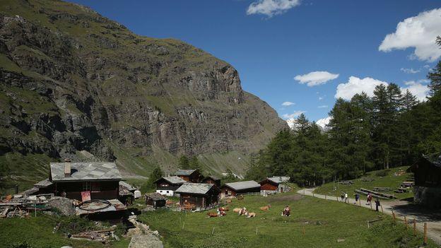 Zmutt hamlet, Zermatt (Credit: Getty Images)